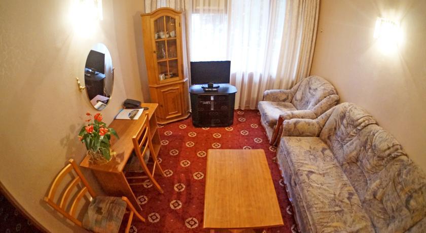 Джуниор-Сюит двухместный однокомнатный (С2ВД1) гостиницы Приморская