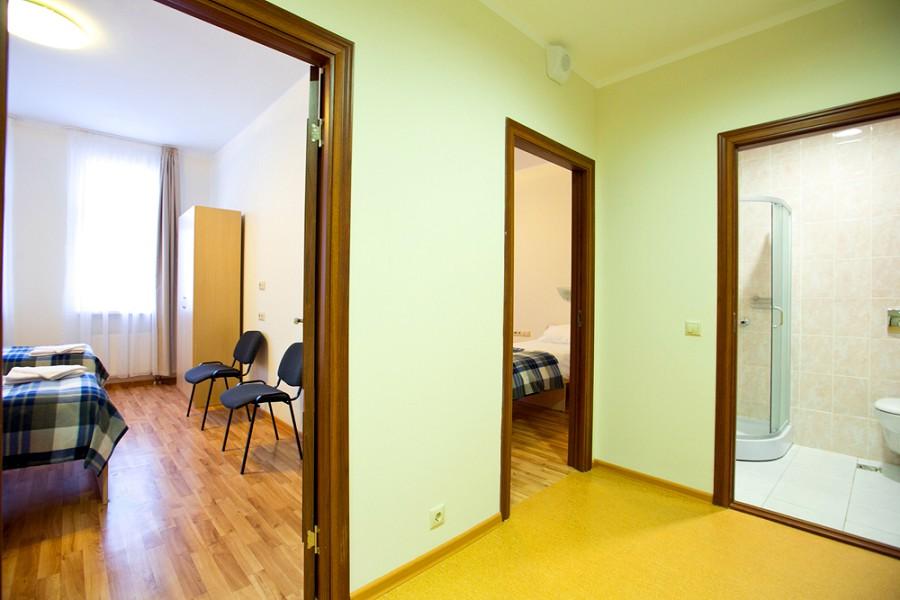 Блок из 2-х двухместных номеров Эконом отеля Приют Панды