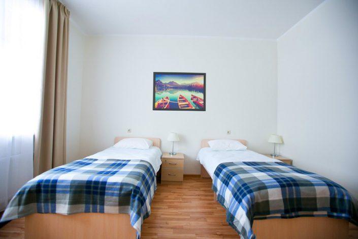 Блок из 3-х двухместных номеров Эконом отеля Приют Панды