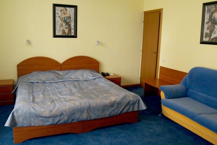 Стандарт Плюс с диваном в Коттедже отеля Прометей клуб