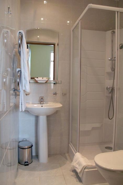 Туалетная комната номера Стандарт Плюс в Коттедже отеля Прометей клуб