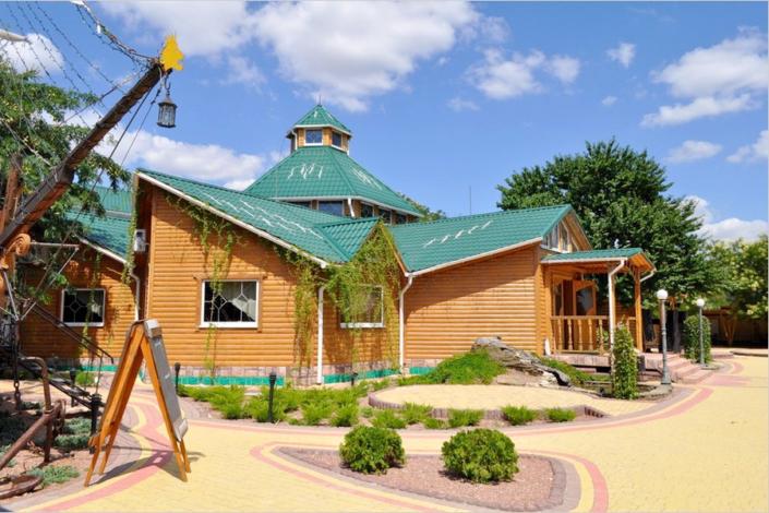 Ресторанный комплекс Тортуга пансионата Прометей плюс ВВ
