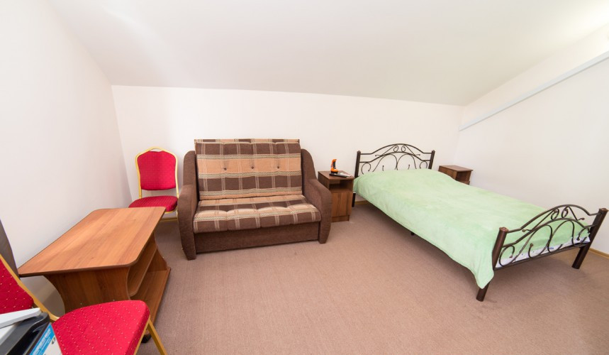 Стандартный двухместный номер гостиницы Пшада