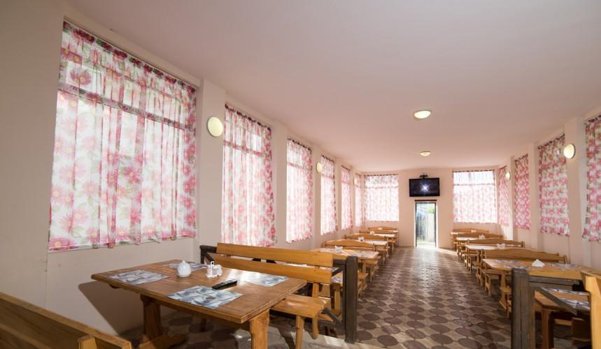 Столовая гостиницы Пшада