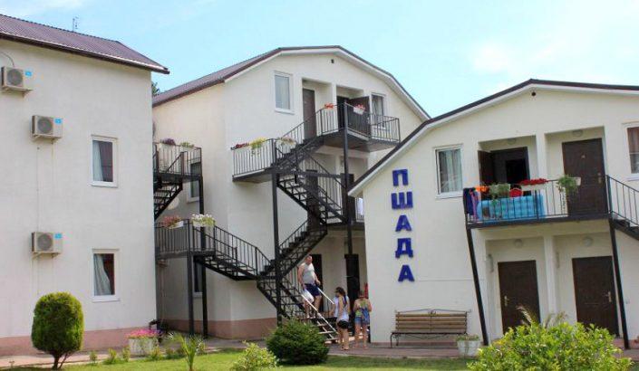 Гостиница Пшада, Пицунда, Лдзаа