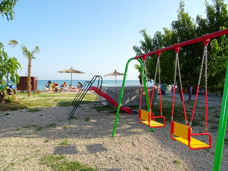 Детская игровая площадка отеля Пшандра, Бамбора, Гудаута, Абхазия