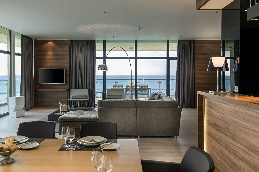Номер Grand Suite отеля Pullman Sochi Centre