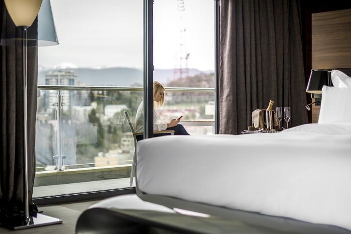 Номер Junior Suite отеля Pullman Sochi Centre