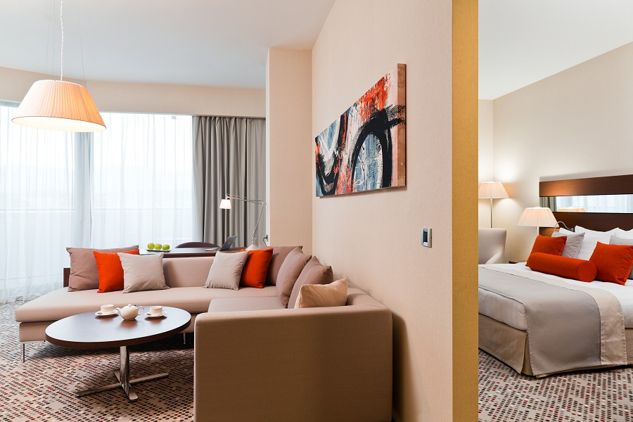 Номер Люкс в отеле Radisson Blu Resort & Congress Centre Sochi