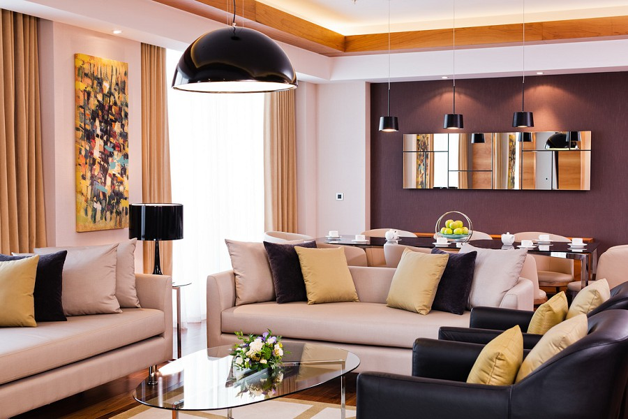 Президентский Люкс в отеле Radisson Blu Resort & Congress Centre Sochi