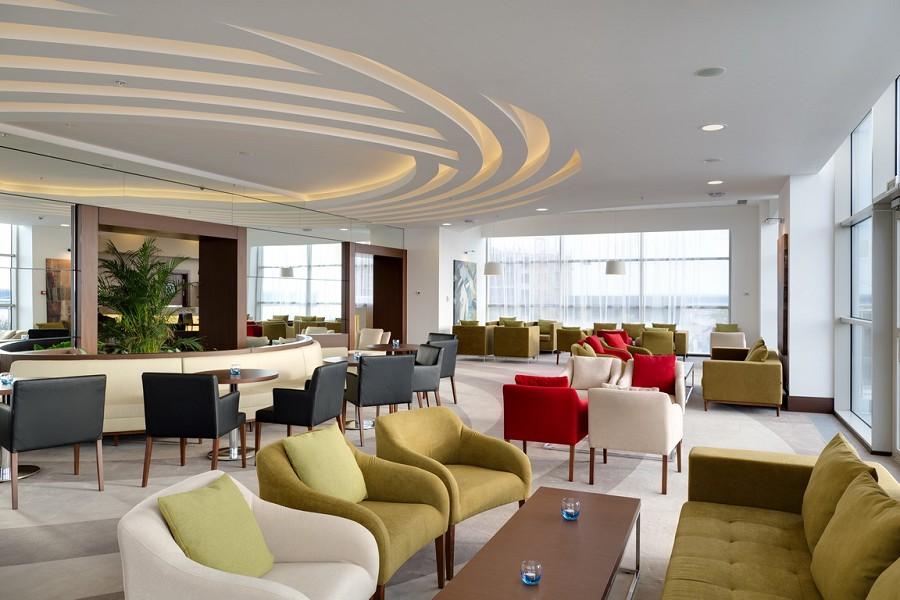 Лобби-бар в отеле Radisson Blu Resort & Congress Centre Sochi