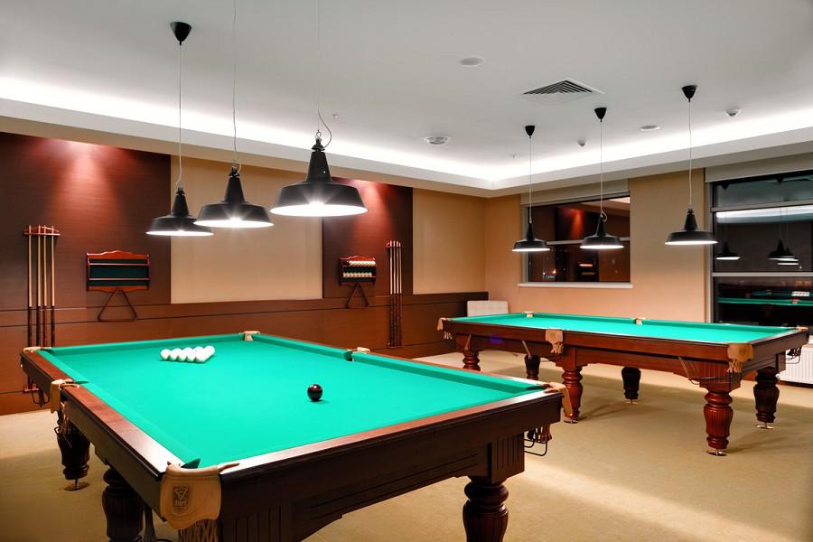Бильярдная в отеле Radisson Blu Resort & Congress Centre Sochi
