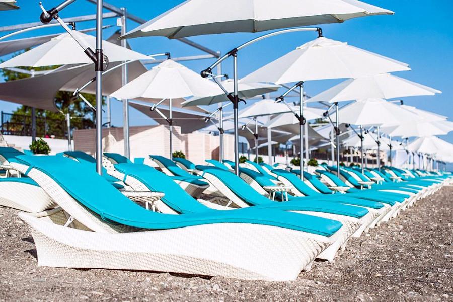 Пляж отеля Radisson Collection Paradise Resort & Spa, Сочи