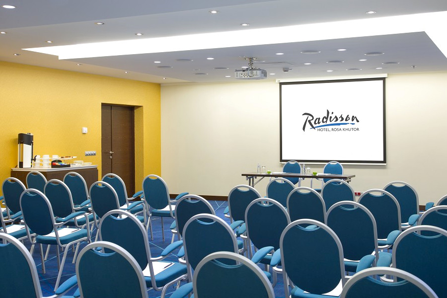 Конференц-зал Сеул в Radisson Rosa Khutor