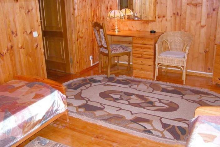 Обстановка в домике санатория Радуга