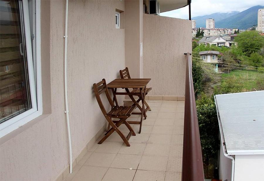 Балкон Стандартного номера гостевого дома Репруа