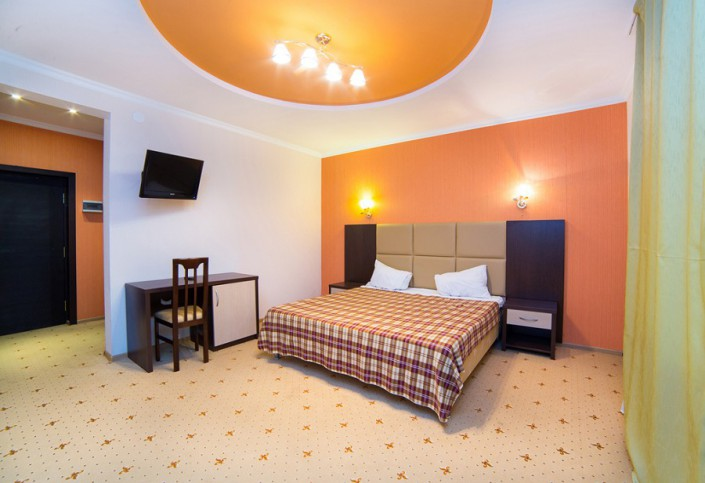 Стандартный двухместный номер гостиницы Резиденция Апсны