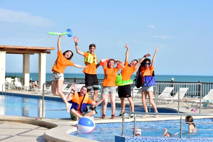 Команда анимации отеля Ribera Resort & Spa
