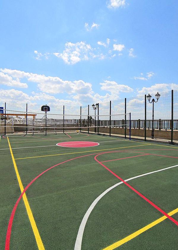 Спортивная площадка отеля Ribera Resort & Spa