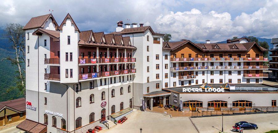 Отель Riders Lodge, Роза Хутор, Красная Поляна, Сочи