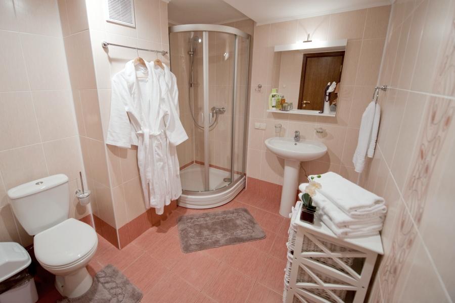 Туалетная комната номера Супериор в Корпусе Модерн Ripario Hotel Group