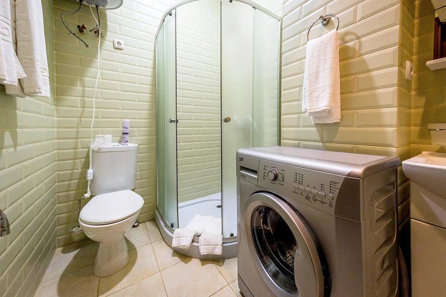 Туалетная комната в Legenda Della Villa Ripario Hotel Group