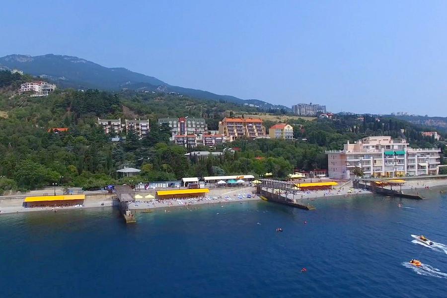 Территория и пляж Ripario Hotel Group