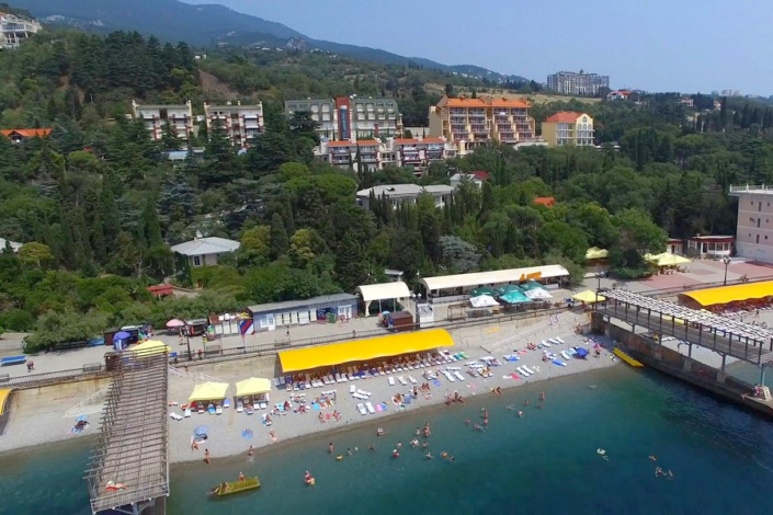 Пляж Ripario Hotel Group