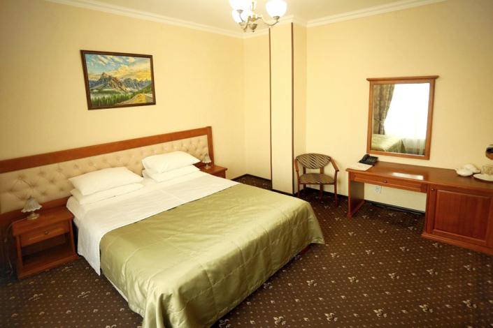 Стандарт Эконом двухместный с двуспальной кроватью отеля Ritsk