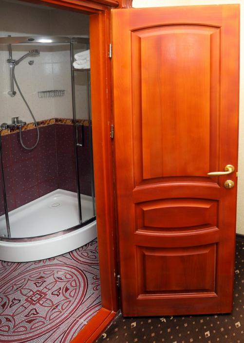 Туалетная комната номера Стандарт в отеле Ritsk