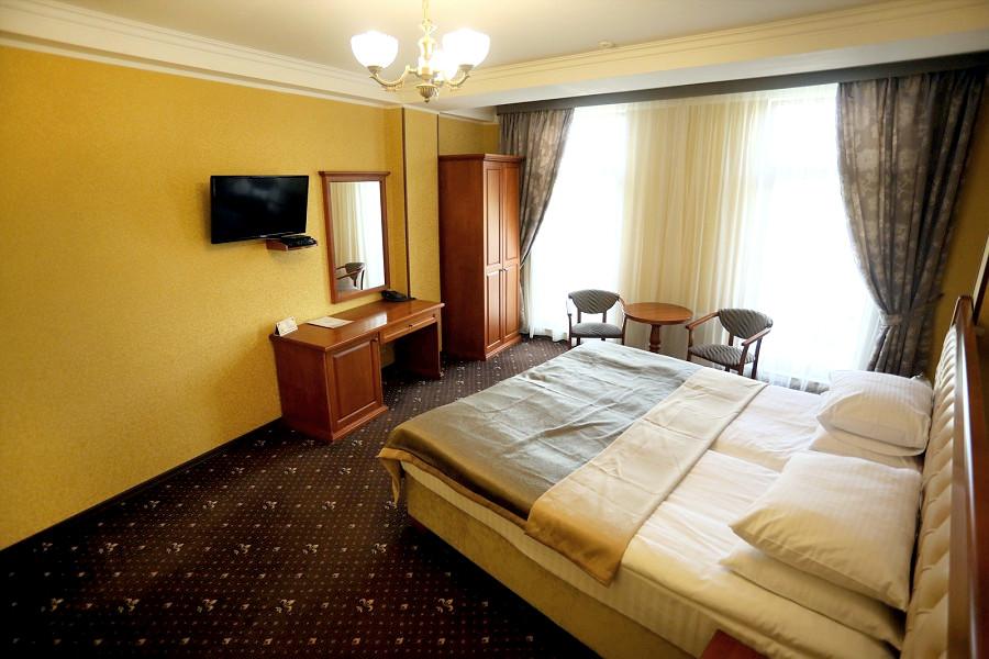 Стандарт двухместный с двуспальной кроватью отеля Ritsk
