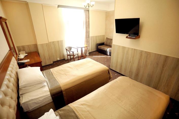 Полулюкс двухместный с раздельными кроватями отеля Ritsk