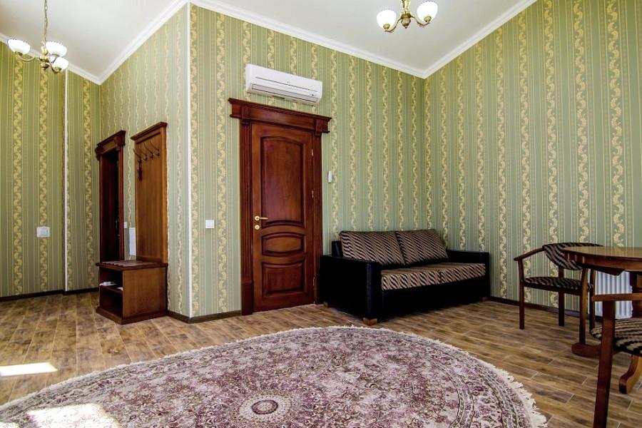 Люкс Плюс двухместный двухкомнатный отеля Ritsk