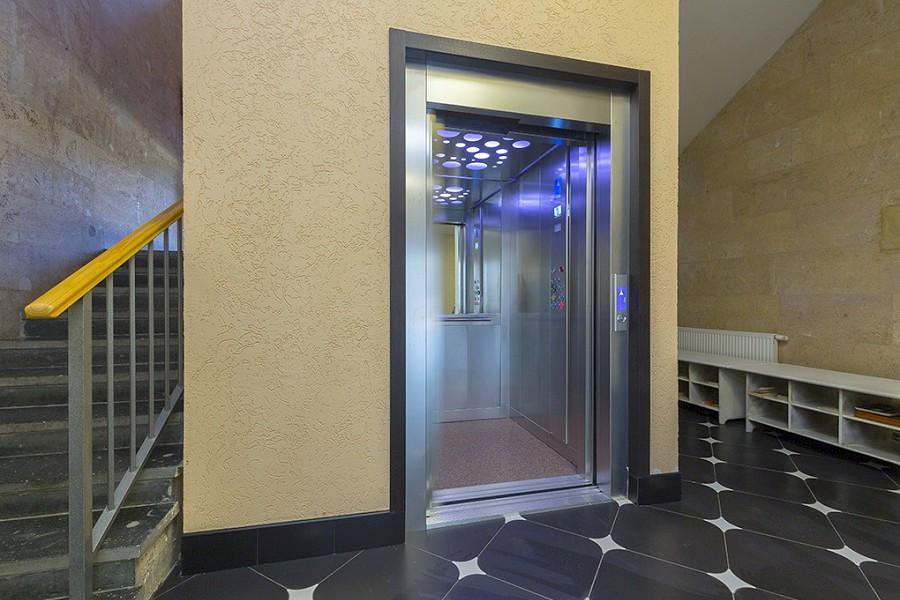 Лифт пансионата Ривьера