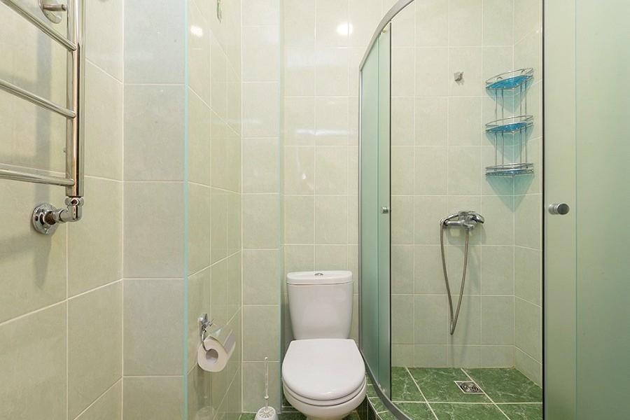 Туалетная комната Стандартного номера пансионата Ривьера