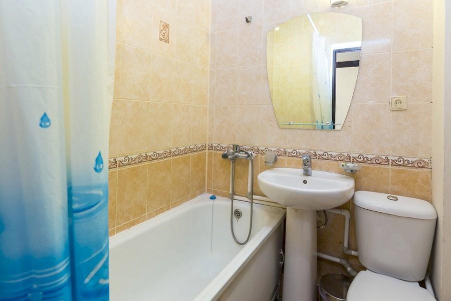 Туалетная комната Стандартного двухкомнатного номера пансионата Ривьера