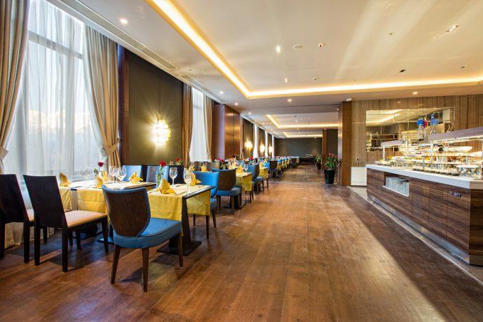 Ресторан Sparx отеля Rixos Krasnaya Polyana Sochi