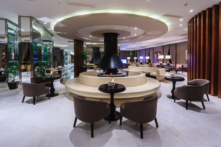 Лобби-бар отеля Rixos Krasnaya Polyana Sochi