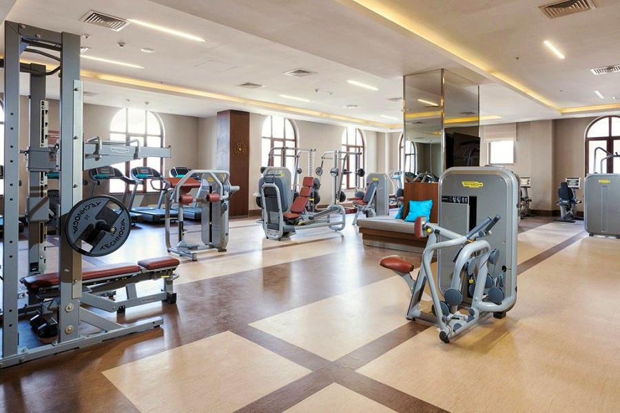 Фитнес-зал отеля Rixos Krasnaya Polyana Sochi