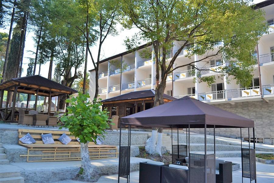 Отель Родина, Новый Афон, Абхазия