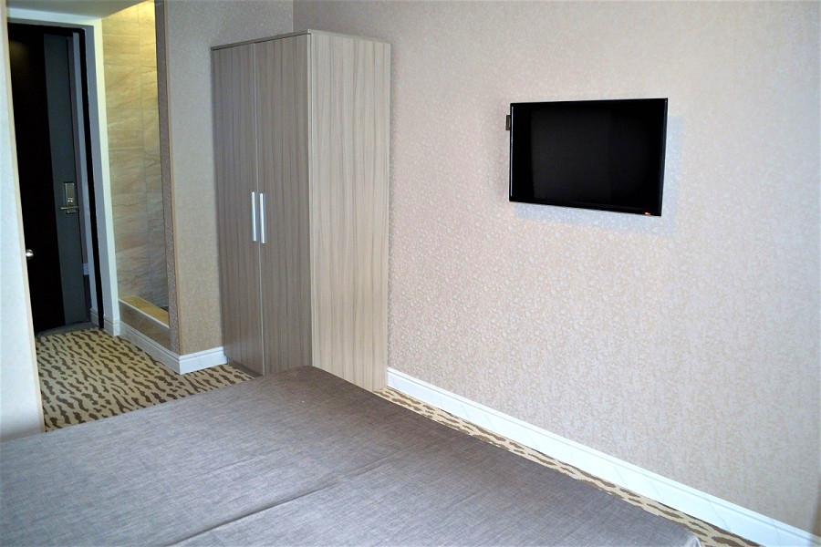 Стандартный двухместный номер в Корпусе 1 отеля Родина, Новый Афон