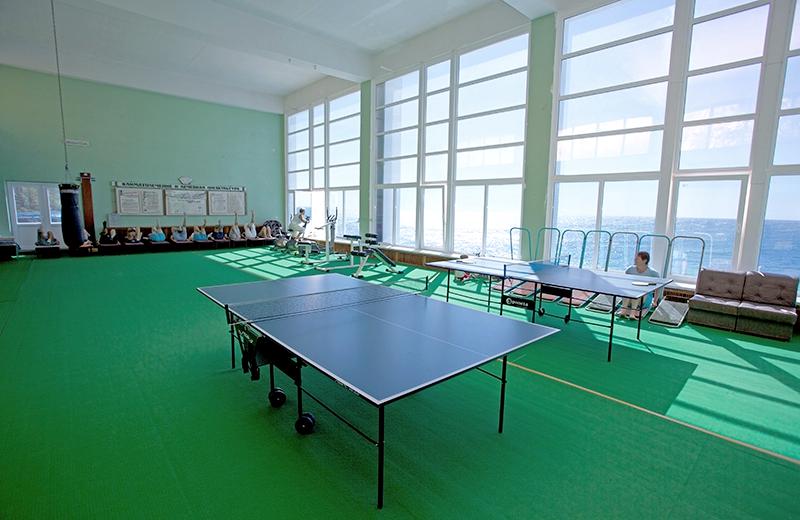 Спортивный зал санатория Родина