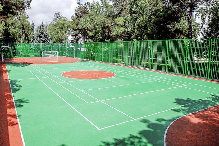 Спортивная площадка санатория Родник