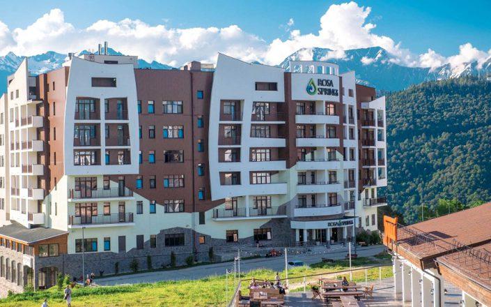 Отель Rosa Springs, Роза Хутор, Красная Поляна, Сочи