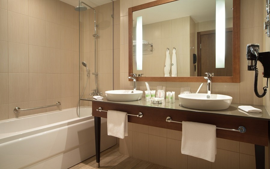 Туалетная комната Номера Люкс отеля Rosa Springs