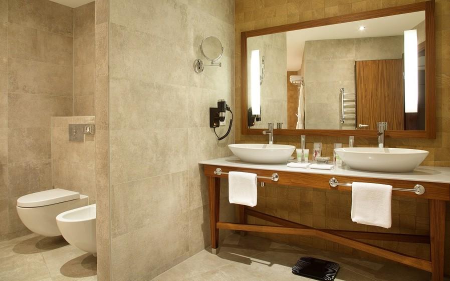 Туалетная комната номера Сюит отеля Rosa Springs