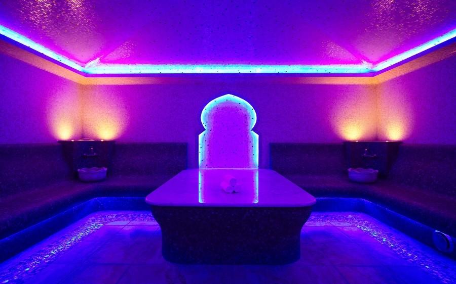 Баня отеля Rosa Springs