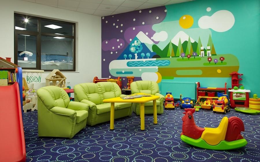 Детский клуб отеля Rosa Springs