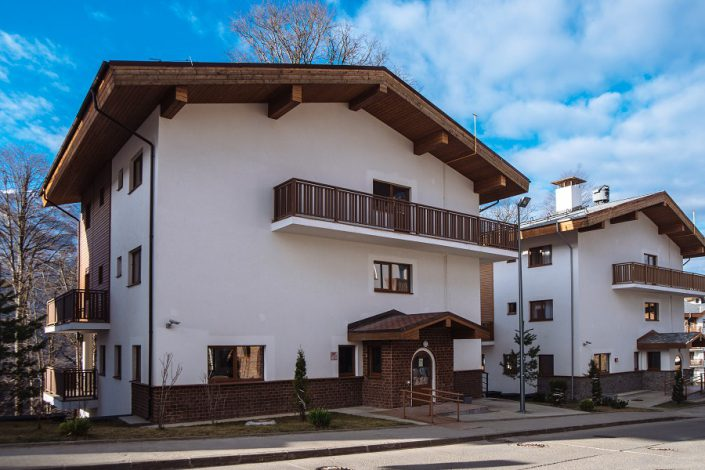 Гостиничный комплекс Rosa Village, ГК Роза Хутор, Красная Поляна, Сочи