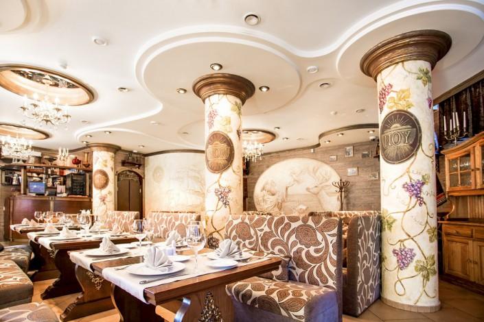 Ресторан Ной в отеле Роза ветров, Сочи